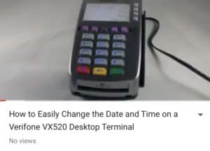 Verifone VX 520 AMP Payment Systems