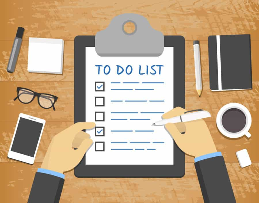 To Do List AMP Payment Systems
